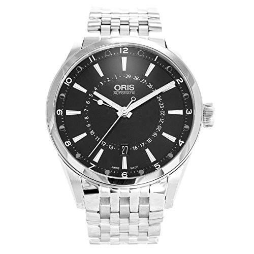 【同梱不可】 【当店1年保証】オリスOris Artix Artix Steel Pointer Moon Stainless Black Dial Stainless Steel Mens Watch 761-7691-4054MB, キタハタムラ:aeaa86c9 --- kzdic.de