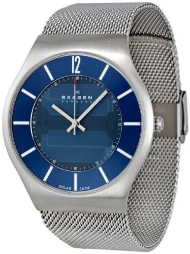 ●日本正規品● 【当店1年保証 Denmark】スカーゲンSkagen Men's 833XLSSN1 Denmark Blue Blue 833XLSSN1 Dial Watch, 株式会社セツビコム エアコン館:065c616d --- kzdic.de