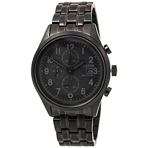 独創的 【当店1年保証】シチズンCitizen Chandler Black Dial Stainless Men's Stainless Dial Steel Men's Watch CA0625-55E, オーディオ逸品館:f97074cf --- kzdic.de