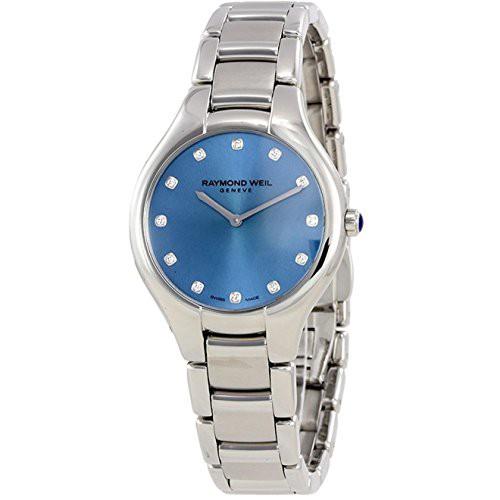 ラウンド  【当店1年保証】レイモンドウィルRaymond Weil Watch Women's Women's Noemia Quartz Noemia Watch with Stainless-Steel, 久米島町:b6106a14 --- oeko-landbau-beratung.de