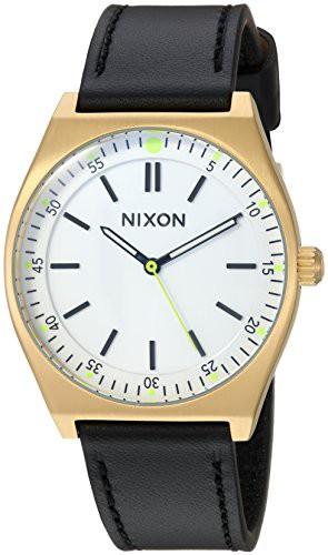 芸能人愛用 【当店1年保証】ニクソンNixon Women's Crew Stainless Steel Japanese-Quartz Watch with Leather-Synt, JEANS FACTORY Online Shop f36dcff0