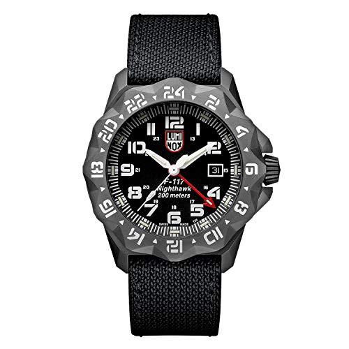 激安店舗 【当店1年保証】ルミノックスLuminox Men's F-117 Night Hawk Watch 6421, 那珂町 abd8e704