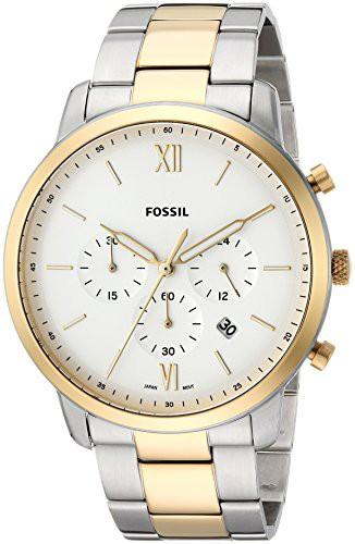 リアル 【当店1年保証】フォッシルFossil Men's Neutra Chrono Quartz Watch with Stainless-Steel Strap, Sil, 倉敷ビッグアメリカンショップ 7d98ce4d