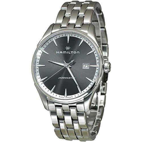 トップ 【当店1年保証】ハミルトンHamilton H32451181 Silver 40mm Stainless-Steel Jazzmaster Mens Watch, ジュエリーロイヤル 01e5cff3