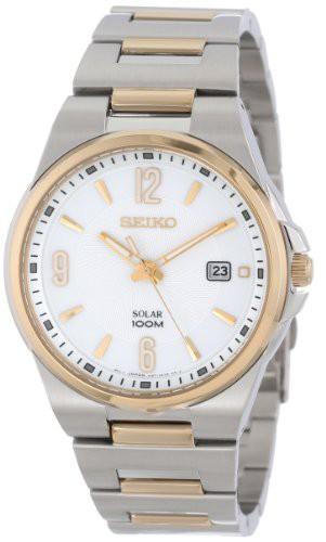 品質のいい 【当店1年保証】セイコーSeiko Men's Men's Dress-Solar Classic SNE210 Sport Dress-Solar Classic Watch, カイフグン:1000750c --- kzdic.de