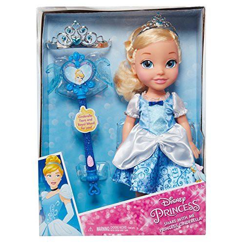 シンデレラdisney princess cinderella toddler doll accessoriesの