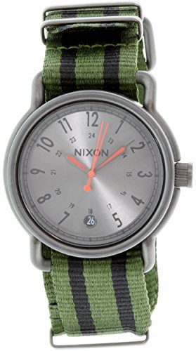 いいスタイル 【当店1年保証】ニクソンNixon Axe Axe Nylon, Watch Surplus/Black Nylon, One One Size, デジキン:3467f042 --- kzdic.de