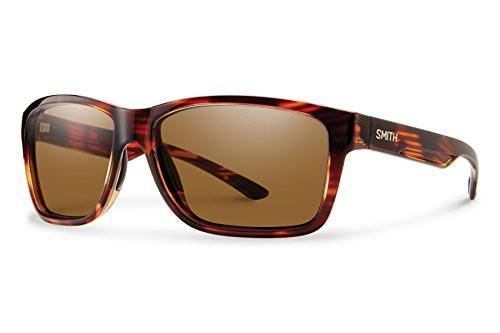 スミスSmith Optics Men's Drake Chroma Pop Polarized Sunglasses (Brown Lens), Tortoise