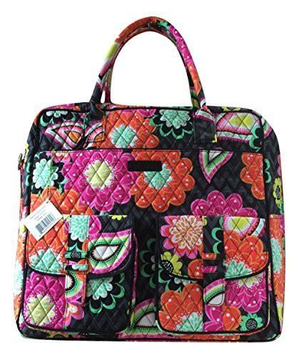 【ポイント10倍】 ヴェラブラッドリーVera Bradley Grand Cargo Bag Ziggy Cargo Zinnia Ziggy with Pink Pink Interior, AGコーポレーション:29635550 --- paderborner-film-club.de