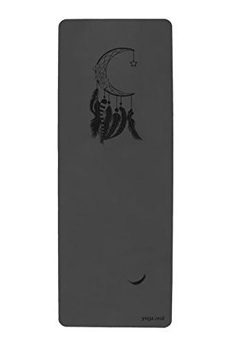 【国内在庫】 ヨガマットYoga Zeal Mooncatcher Mat Hot Yoga, Bikram Yoga Mat. Specially Designed for Hot Yoga. No Inks -, スズシ 9d3641c2