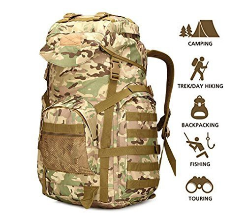 ミリタリーバックパック70l military tactical backpack large army 3