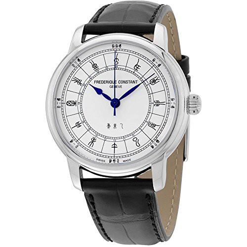 【驚きの値段で】 Constant Mens Zodiac Leather Automatic 【当店1年保証】フレデリックコンスタントFrederique-腕時計メンズ