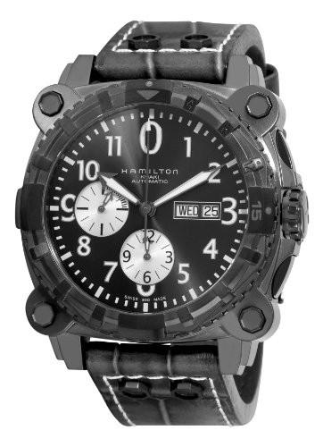 【国内正規総代理店アイテム】 【当店1年保証 H78696393】ハミルトンHamilton Men's Men's H78696393 Khaki Navy BelowZero Navy Watch, 出水郡:7d5da37e --- kzdic.de