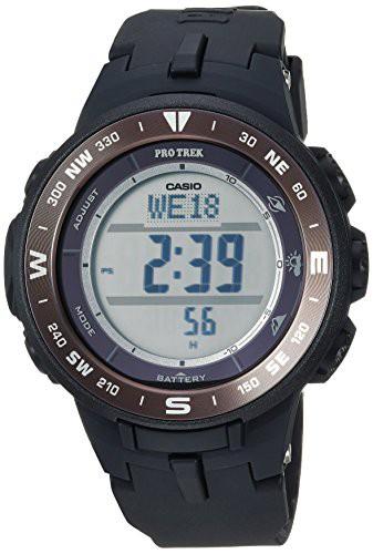 人気商品は 【当店1年保証】カシオCasio Men's Pro Trek Quartz Quartz Watch Black, with Trek Resin Strap, Black, 23 (Model: PRG330-, フランドルオンライン:9dee76ea --- chevron9.de