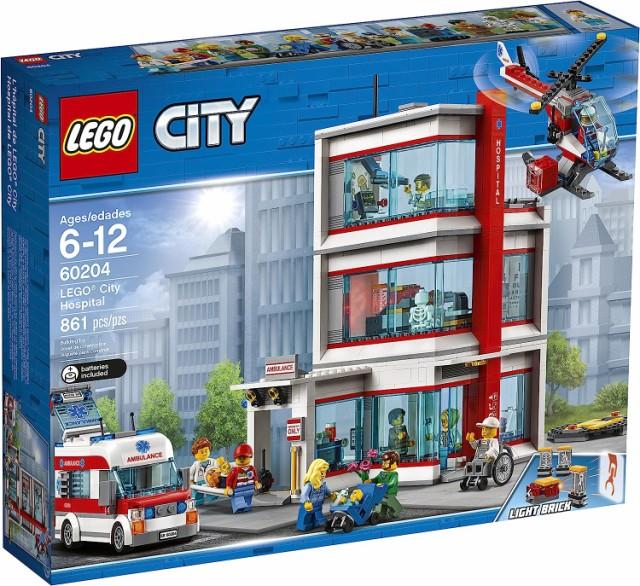 861 Piece LEGO City Hospital 60204 Building Kit