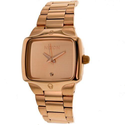 2019年秋冬新作 【当店1年保証 Steel】ニクソンNIXON Women's A300-897 Stainless Steel Analog Dial Gold Dial Stainless Watch, 【年中無休】:9d226f84 --- chevron9.de