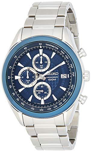 2018セール 【当店1年保証】セイコーSeiko Chronograph SSB177P1 Men's watch Solid Case, カモウチョウ 1ea070a5