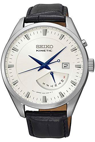 セール 登場から人気沸騰 【当店1年保証】セイコーSeiko Kinetic - Watch SRN071P1 - Leather Leather Gents Watch Kinetic Analogue, 【新品】:9a286888 --- 1gc.de