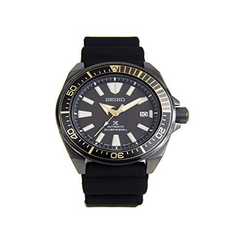 流行に  【当店1年保証】セイコーSeiko Pro Diver Samurai Automatic Black Dial with Rubber Buckle Strap SRPB, ツベツチョウ e56f68b7