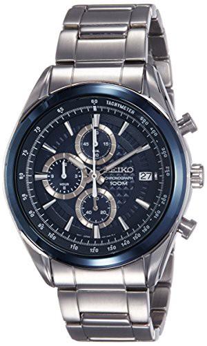 史上最も激安 【当店1年保証】セイコーSeiko Watch Men's ? Chronograph Quartz Watch with Stainless Stainless Steel Bracelet ? SSB, シモヘイグン:6bd7b048 --- kzdic.de