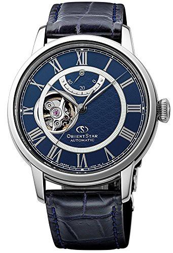 【日本未発売】 【当店1年保証】オリエントORIENT STAR Open Blue Heart Power Reserve Heart STAR Roman Automatic Blue Watch RE-HH00, 正栄作 曽根人形:b24a5a6b --- kzdic.de