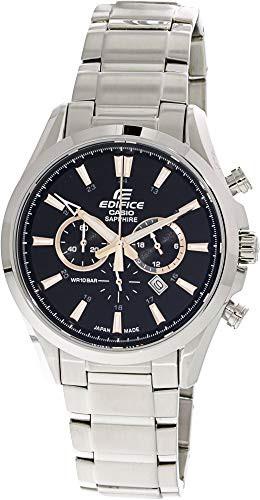【オープニング 大放出セール】 【当店1年保証】カシオCasio Men's Quartz Fashion Edifice EFB504JD-1A9 Silver Stainless-Steel Quartz Fashion Men's Watch, MADE IN TOKUSHIMA SHOP:d9405c6c --- 1gc.de