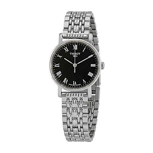 2019年最新入荷 【当店1年保証】ティソTissot Everytime Lady Stainless Steel Black Dial Watch T109.210.11.053.00, ブランドジャックリスト湘南 7a7ccf1b
