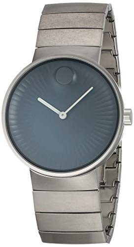 【超ポイントバック祭】 【当店1年保証】モバードMovado Stainless Edge Black Black Dial Men's Stainless Steel Men's Watch 3680006, リクベツチョウ:53ed3dfe --- 1gc.de
