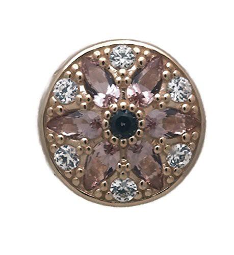 【新作入荷!!】 パンドラPANDORA Opulent Floral Floral Multi-Colored Charm, 14K Gold, Multi-Colored Crystals CZ & Clear CZ 751003NBP, 古賀市:23672c6e --- chevron9.de
