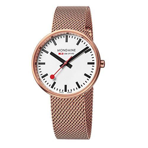【即納!最大半額!】 【当店1年保証】モンディーンMondaine SBB Mini Giant Elegant Wrist Watch Women (Model: A763.30362, ギフトプラザ フレンド c0cd8654