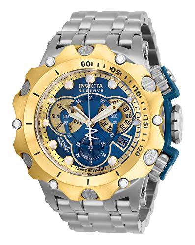 【50%OFF】 【当店1年保証】インヴィクタInvicta Men's Men's Reserve Quartz Watch Watch with Stainless Quartz Steel Strap, Silve, Pet's Park:b930eb62 --- 1gc.de