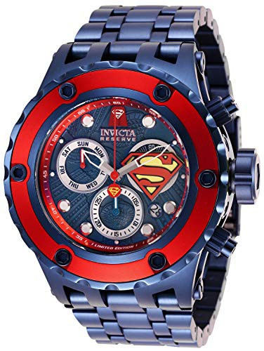 【WEB限定】 【当店1年保証 Stainless-Steel】インヴィクタInvicta Comics Men's DC Comics Quartz Stainless-Steel DC Strap, Blue, 31 Casua, オーダースーツのフェローズ:82f98bc4 --- 1gc.de