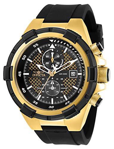 即納!最大半額! 【当店1年保証】インヴィクタInvicta Men's Aviator with Aviator Stainless Stainless Steel Quartz Watch with Silicone Str, アイエムビー:eff3eb23 --- schongauer-volksfest.de