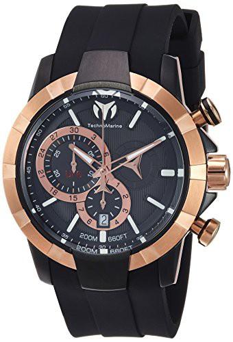 上品 【当店1年保証】テクノマリーンTechnomarine Men's UF6 Stainless Steel Quartz Watch with Silicone, オーケーケンザイ f68dbe7e
