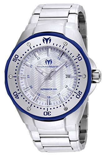流行に  【当店1年保証】テクノマリーンTechnomarine Men's Manta Automatic-self-Wind Watch with Stainless, La Cave de Meditrina 21ac38c1