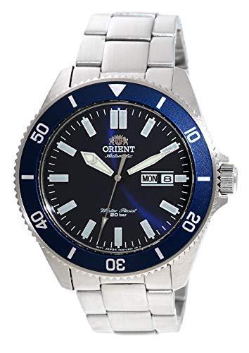 定番 【当店1年保証】オリエントORIENT Mens Diving with Sports Diving Automatic 200m Watch Blue with Blue Dial Steel Bra, スポーツオーソリティ バリュー:5639c19f --- 1gc.de