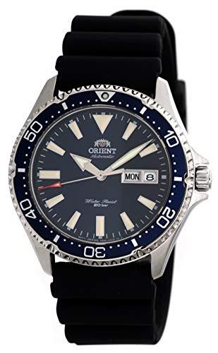 人気ショップ 【当店1年保証】オリエントORIENT Mens Diving Sports Automatic 200m 200m Watch with Sports Mens Rubber Strap Blue D, OSショップ:2596d6e4 --- 1gc.de