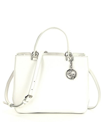 【SEAL限定商品】 マイケルコースMichael MICHAEL KORS Anabelle Medium Optic Top Zip Leather Leather Tote Anabelle Optic White, CosmeRafio:790a3eec --- 1gc.de