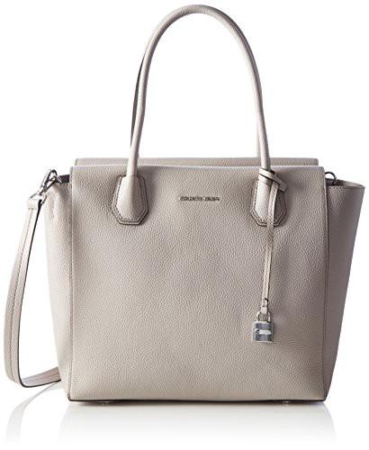 第一ネット マイケルコースMICHAEL Michael Handbags, Kors Cement Mercer Large Michael Satchel Cement Satchel Handbags, Gray, Medium, 王様のカーテン:0363b280 --- 1gc.de