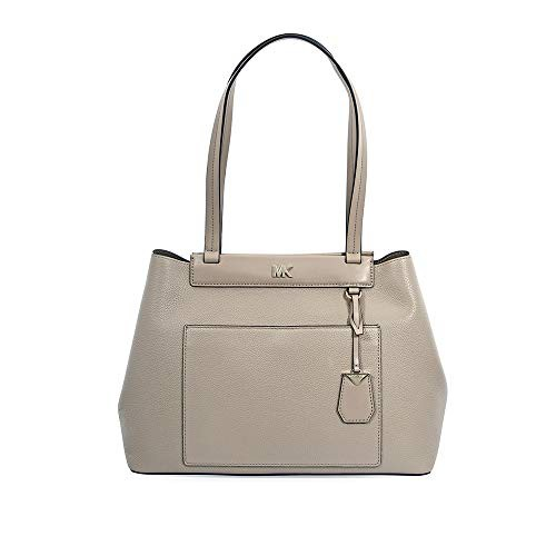 専門店では マイケルコースMichael Kors Bonded Meredith Medium East/West Medium Bonded Leather Tote- Leather Truffle, セレクトショップMOMO:db96556a --- 1gc.de
