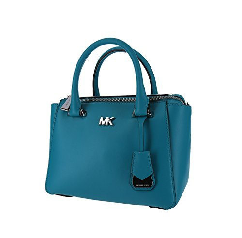 【お年玉セール特価】 マイケルコースMichael Leather Michael Kors Nolita Mini Leather Satchel Tile Nolita - Tile Blue, NEXARY:c406b21d --- chevron9.de