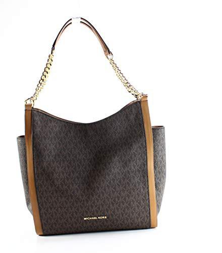 名作 マイケルコースMICHAEL Michael Kors Medium Medium Newbury Signature Shoulder Bag Bag Newbury , Brown, コザガワチョウ:e9b142ea --- 1gc.de