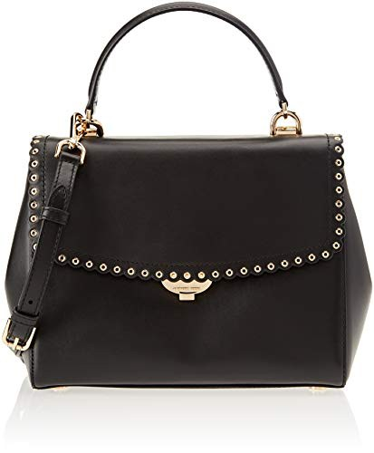超高品質で人気の マイケルコースMichael Kors Womens Ava Kors Satchel Womens Ava Black (BLACK), 岱明町:28f2ee11 --- chevron9.de