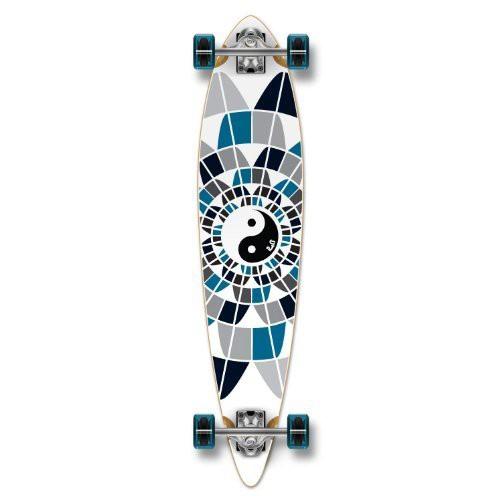 当店だけの限定モデル ロングスケートボードYocaher Graphic Complete Pintail Skateboards Longboard Cruiser w/Black Widow Pre, 着物ネットレンタルkimonoshop 8fd1eb67