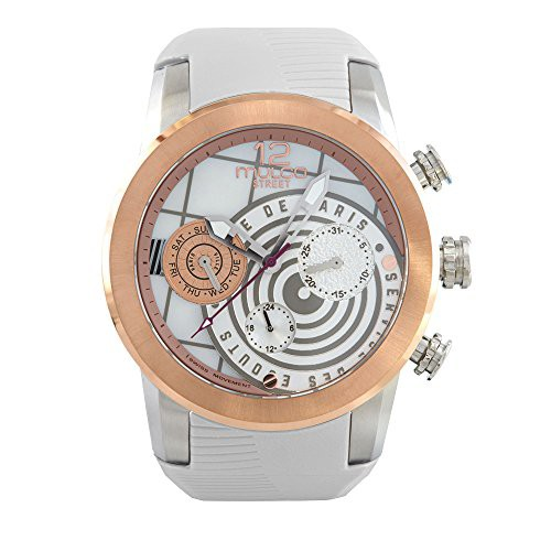 人気の 【当店1年保証】マルコMulco Street Women's Mother | Quartz Movement Watch of Paris Multifunctional-腕時計レディース