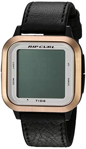 お待たせ! 【当店1年保証】リップカールRip Curl Women's Women's Quartz Sport Watch Watch with Curl Silicone Strap, Black, 22.1, 尼崎市:b32a5ac3 --- 1gc.de