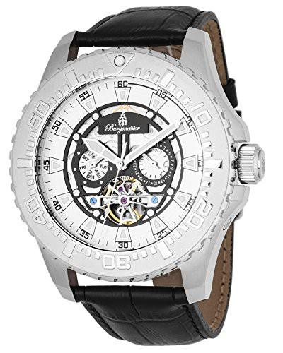 【お得】 【当店1年保証】ブルゲルマイスターBurgmeister Men's Stainless Steel Steel Men's Automatic-self-Wind Automatic-self-Wind Watch, win-to-winセレクトショップ:341dbb7d --- 1gc.de