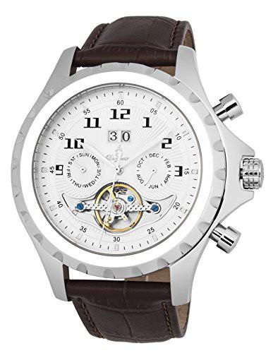 独特な 【当店1年保証】ブルゲルマイスターBurgmeister Men's Stainless Steel Automatic-self-Wind Watch, リサイクルショップなんでも鑑定局 4a539664