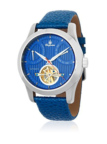 人気ブランドを 【当店1年保証 Automatic-self-Wind】ブルゲルマイスターBurgmeister Men's Stainless Steel Men's Stainless Automatic-self-Wind Watch, 熱塩加納村:043f45d7 --- 1gc.de