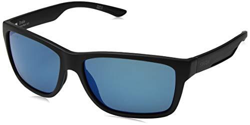大人気の スミスSMITH Drake ChromaPop+ Polarized Sunglasses, Matte Black, Blue Mirror Lens, MUI MUI 4cd43efa